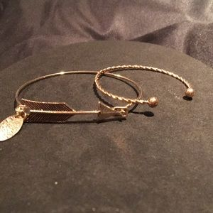 "Jewelry - ""Follow your heart"" bangle bracelets"